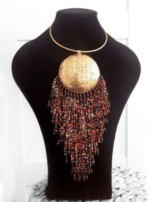 Collier africain du Mali