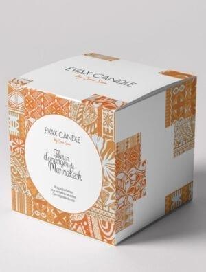 BOUGIE PARFUMEE EVAX CANDLE FLEUR D'ORANGER DE MARRAKECH