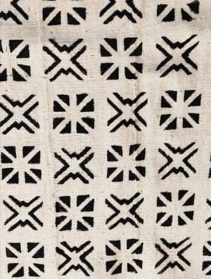 Bogolan Wagui blanc croisé