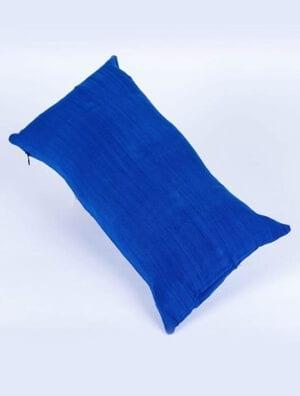 Housse de coussin Teranga [Bleu uni]