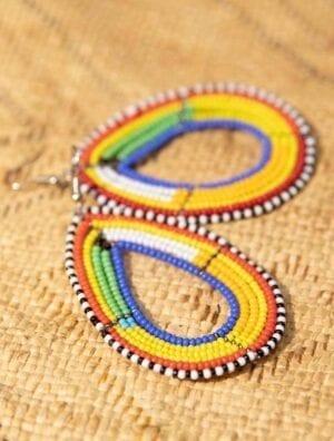 Boucles d'oreilles Maasai