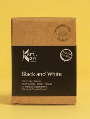 Savon Black en White KariKariAfrica 100 GR